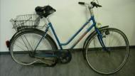 Dieses verbogene Fahrrad sorgte für den Zugausfall.