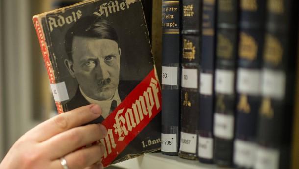 Hitlers Hass-Schrift bleibt im Giftschrank