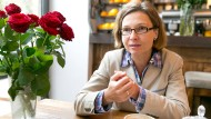 Direktkandidatin: Bettina Wiesmann hat sich gegen den CDU Fraktionsvorsitzenden im Frankfurter Rathaus Römer, Michael zu Löwenstein, durchgesetzt