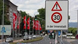 Mainz macht Ernst mit Tempo 30