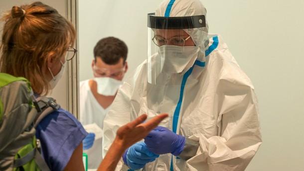Wieder auffallend viele Neuinfektionen in Hessen