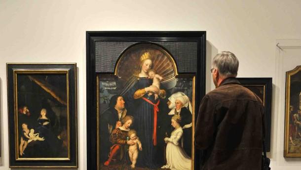 """Keine Hoffnung auf Verbleib der """"Holbein""""-Madonna in Hessen"""