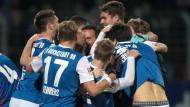 Seit 16 Spielen ungeschlagen: SV Darmstadt 98.