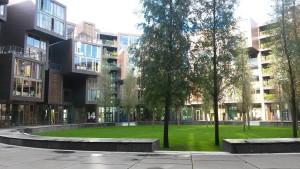 Neues Wohnviertel mit Bahnanschluss und Klimaregeln