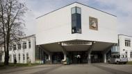 Im Zeichen eines Benefiz-Workshops: Die Philipp-Holzmann-Schule in Frankfurt