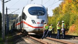 Zugstrecke Frankfurt–Köln bald wieder befahrbar – zumindest teilweise