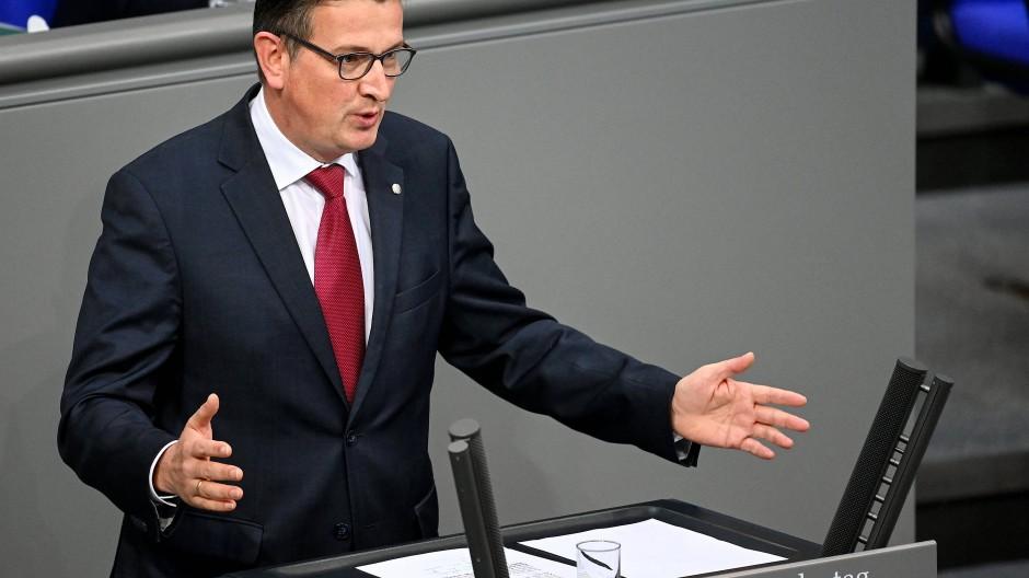 Bittere Niederlage: Martin Rabanus (SPD) scheidet aus dem Bundestag aus.