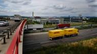 Die A49 im Kasseler Osten