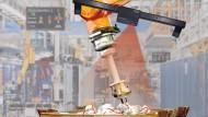 """Überwacht und steuert: """"Sehende Maschine"""" von Isra Vision mit einem Industrieroboter"""