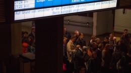 Unfreiwillige Nacht in Kassel für 1000 Bahnreisende