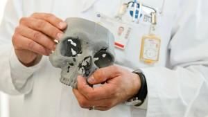Hartplastik-Knochen aus dem 3D-Drucker