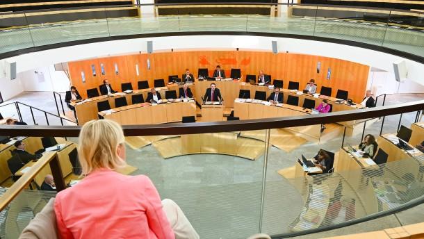 Mehrheit der Abgeordneten will Landtag nicht verkleinern