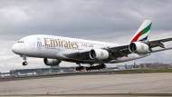 Frankfurt-Verbindung mit dem A380 ausgebaut