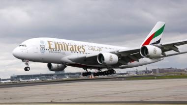 Großer Auftritt: Neuerdings wird Emirates täglich mit ihrem Flaggschiff A380 am Frankfurter Flughafen aufkreuzen.