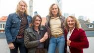 Die Band: Benno Herz, Philip Meloi, Max Schneider, Robert Herz (von links) bilden Okta Logue