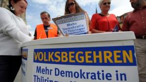 Landtag will Volksbegehren vereinfachen