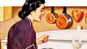 Die schwäbische Hausfrau