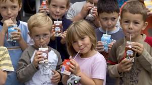 Vorwahlkampf um die Schulmilch
