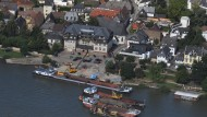 Wirtschaftet ordentlich: Walluf - hier das Rheinufer