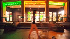 Um Mitternacht im Supermarkt