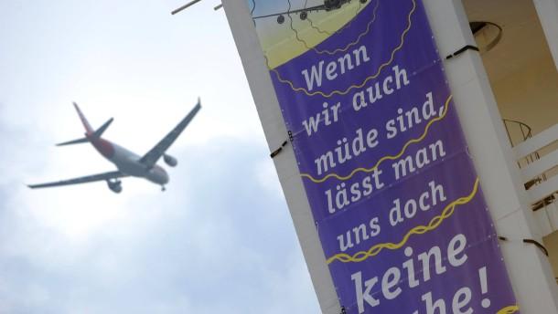 Kopie von Protest gegen Fluglärm in Frankfurt