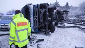 Fahrverbot für Lastwagen ist keine sinnvolle Lösung