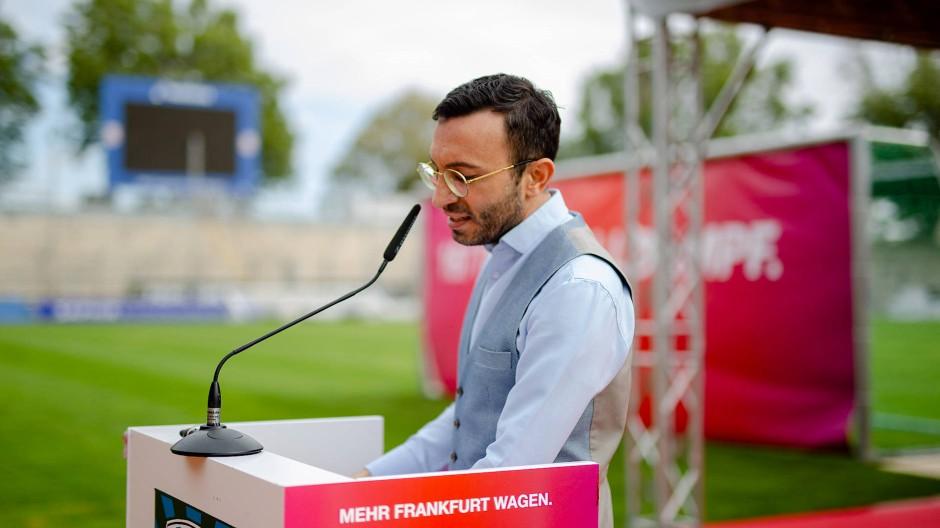 Im Wahlkampf: SPD-Parteichef Mike Josef
