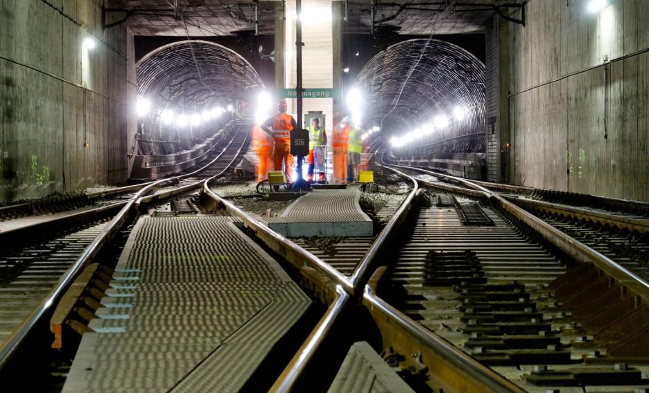 S Bahn Tunnelsperrung Frankfurt 2021