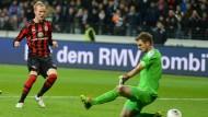 """Will fortan für die """"Lilien"""" treffen: Jan Rosenthal, hier im Einsatz gegen den VfB Stuttgart vor zehn Monaten"""