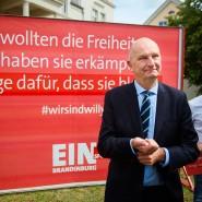 Gegenkampagne: Brandenburgs Ministerpräsident Dietmar Woidke