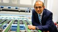Self-made-Man: Enis Ersü führt mit Erfolg die von ihm gegründete Isra Vision AG