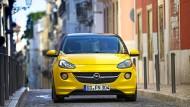 Geeignet für die Stadt: Die Flotte bestand aus Autos des Modells Opel Adam (Symbolbild).