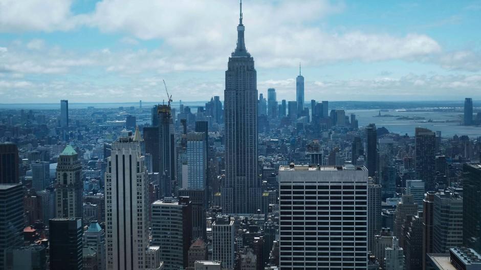 Gigantisch: Die Skyline von New York.