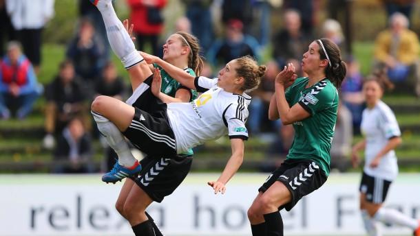 1.Bundesliga Damen, 1.FFC Frankfurt - FCR Duisburg