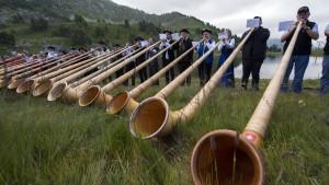 Großes Alphornmusikertreffen in Nordhessen