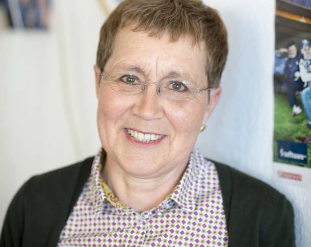 Regelt die Anfragen: Vereinssekretärin Jutta Arnold - regelt-die-anfragen