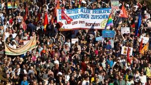 Tausende zu Demonstration in Frankfurt erwartet
