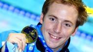 Es ist meist Gold, was glänzt: Marco Koch ist im Brustschwimmen eine Klasse für sich.
