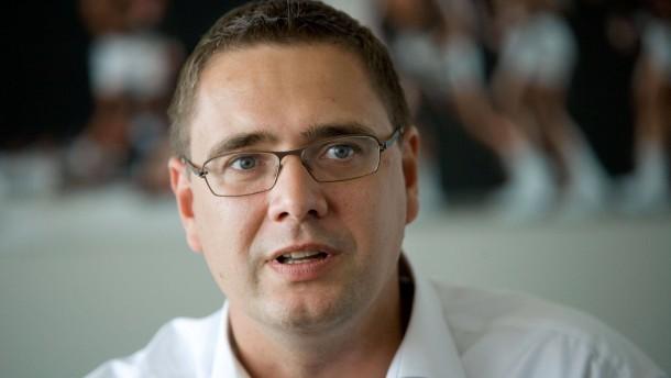Gunnar Wöbke - der Geschäftsführer Frankfurt Skyliners im Gespräch.