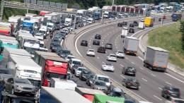 Albtraum auf der Autobahn