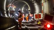 Läuft: Im S-Bahn-Tunnel wird ein neues Stellwerk getestet