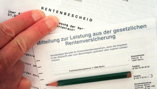 Die Hessen zahlen 2013 sechs Milliarden Euro in die Rentenversicherung