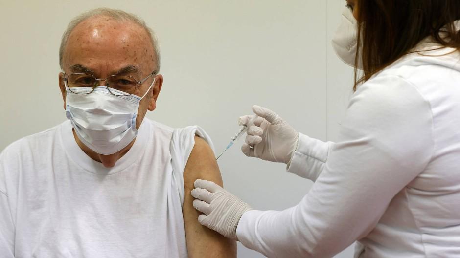 In Mainz werden die Ältesten schon geimpft, in Hessen erst am 19. Januar.