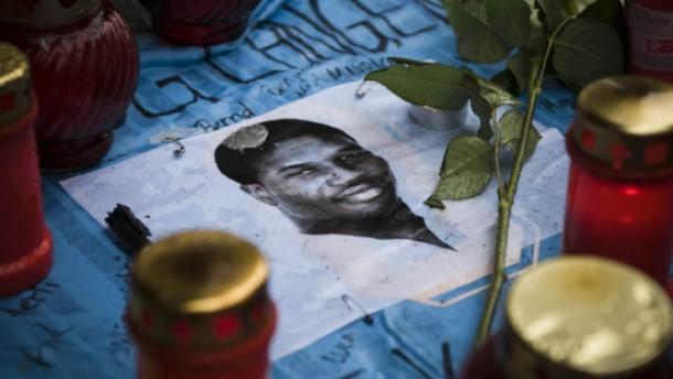 Trauer um getöteten Nigerianer