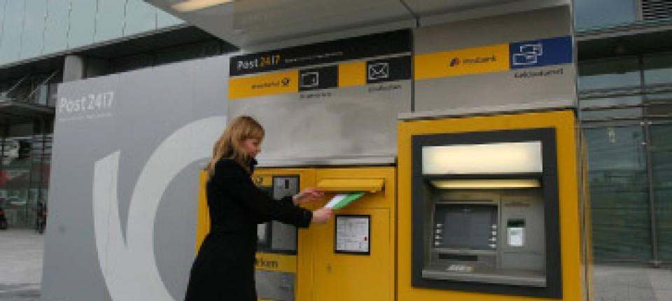 Packstation Abholen Ohne Karte.Postdienste Die Packstation Kann Immer Wirtschaft Faz