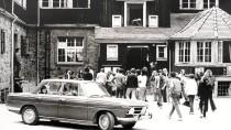 Aus den siebziger Jahren: das Goethehaus der Odenwaldschule in Ober-Hambach bei Heppenheim.