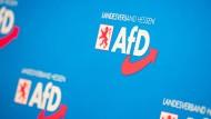 AfD in Hessen: Robert Lambrou wurde an die Spitze des Gründungsvorstandes gewählt.