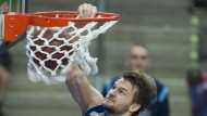 """Sieht als """"Jugendspieler, der eine ganz solide Saison spielt"""": Danilo Barthel von den Frankfurt Skyliners"""