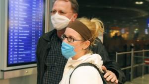 Ohr-Thermometer für Fluggäste aus Mexiko
