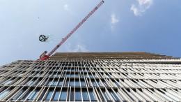 Der F.A.Z.-Turm ist erwachsen